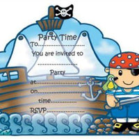 Pirate Invitations