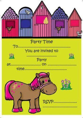 Pony Invitations