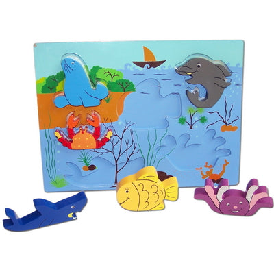 Sea Scene Pop Up Puzzle
