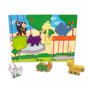 Zoo Animals Pop Up Puzzle