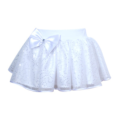 Pretty In White Skirt