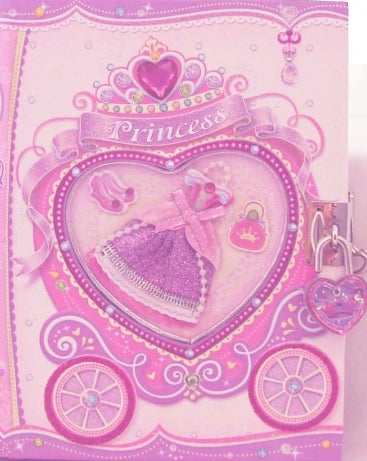 Princess Lockable Diary