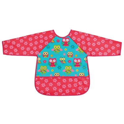 Owl Long Sleeved Apron