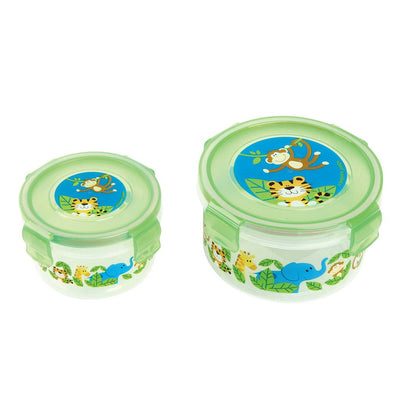Zoo Nested Snack Containers