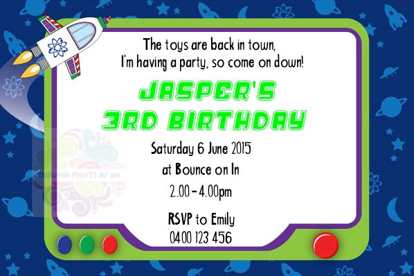 Space Personalised Invite