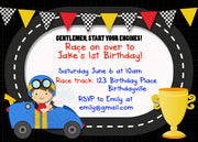 Start Your Engines Personalised Invite