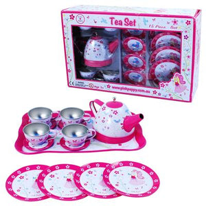 Summer Song Tin Tea Set