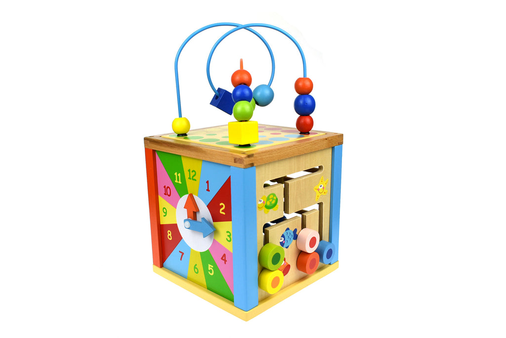 5 in 1 Play Cube Centre