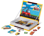 Magnetic Vehicles Book