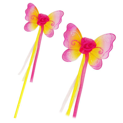 Enchanted Blossom Yellow Wand