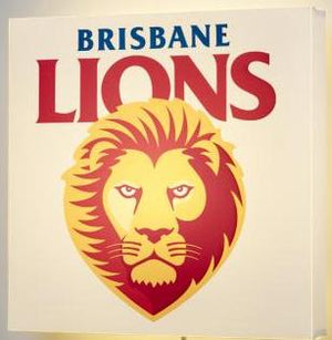 Brisbane Lions Wall Light