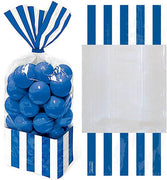 Bright Royal Blue Stripe Cello Bags