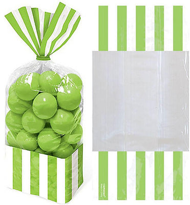 Kiwi Stripe Cello Bags