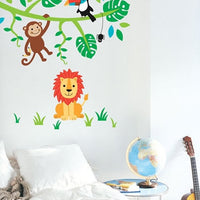 Jungle Friends Wall Stickers