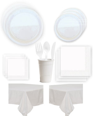 White Party Kit - 20 people