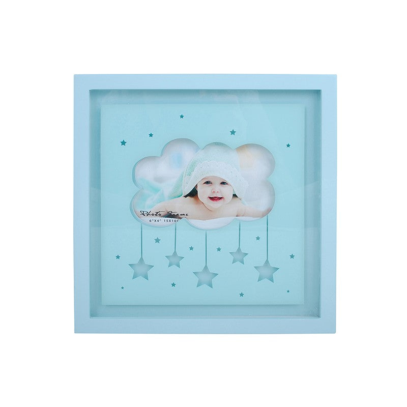 Blue Photo Frame Light Box