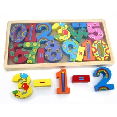 Number Block Tray