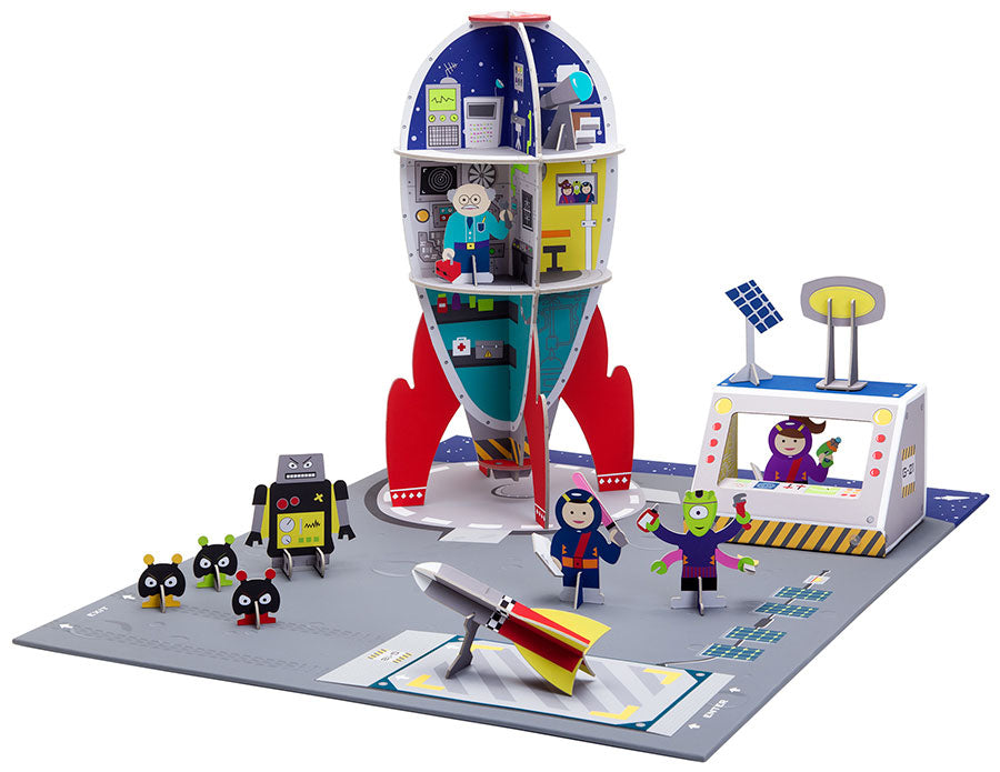 Galactic Space Station Playset