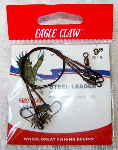 Heavy Duty Wire Leaders  3/Pk