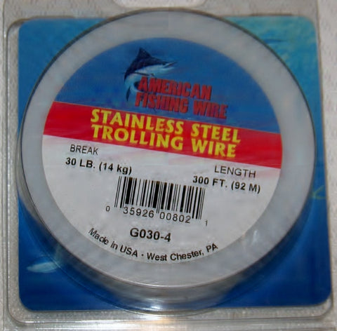 Stainless Steel Trolling Wire by AFW