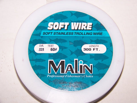 Malin Soft Stainless Trolling Wire