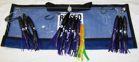"Squid 18"" Spreader Bar 6"" Squids"