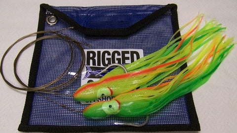 Shark Rig-Squid Skirted 300+Lb-Single Strand Replacements