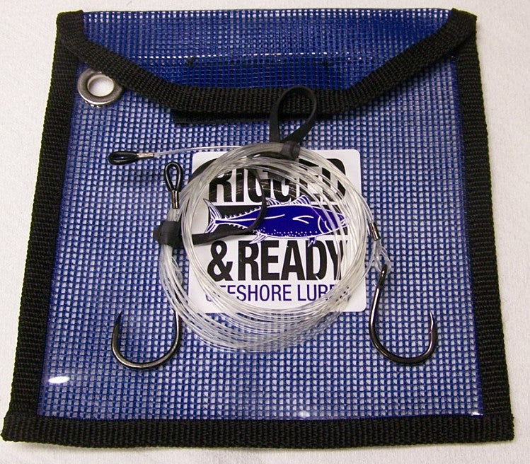 Live Bait/Pogie/Chunking Fluorocarbon Rigs