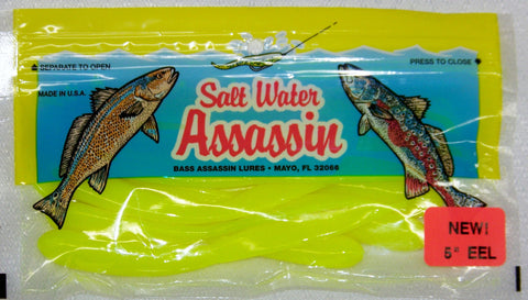 Bass Assassin Eel Assassin 5""