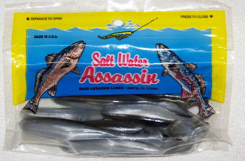 "Saltwater Sea Shad 6"" by  Bass Assassin"
