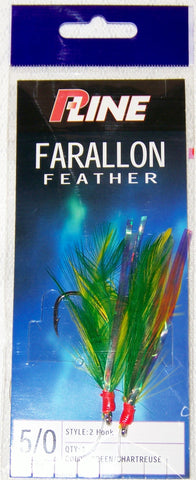 Farallon Feather Chartreuse/Green 5/0