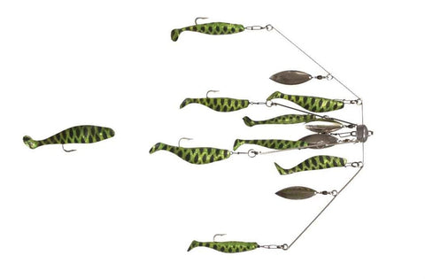 4 Arm 4 Oz Shad Spider Umbrella Rig