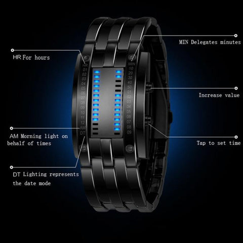 Men's Special Digital LED Watches