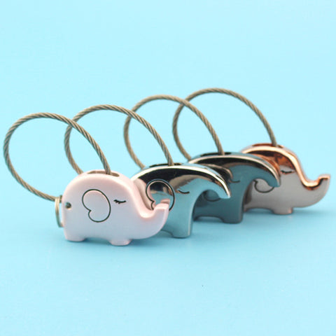 The Elephant Love Keychain Set