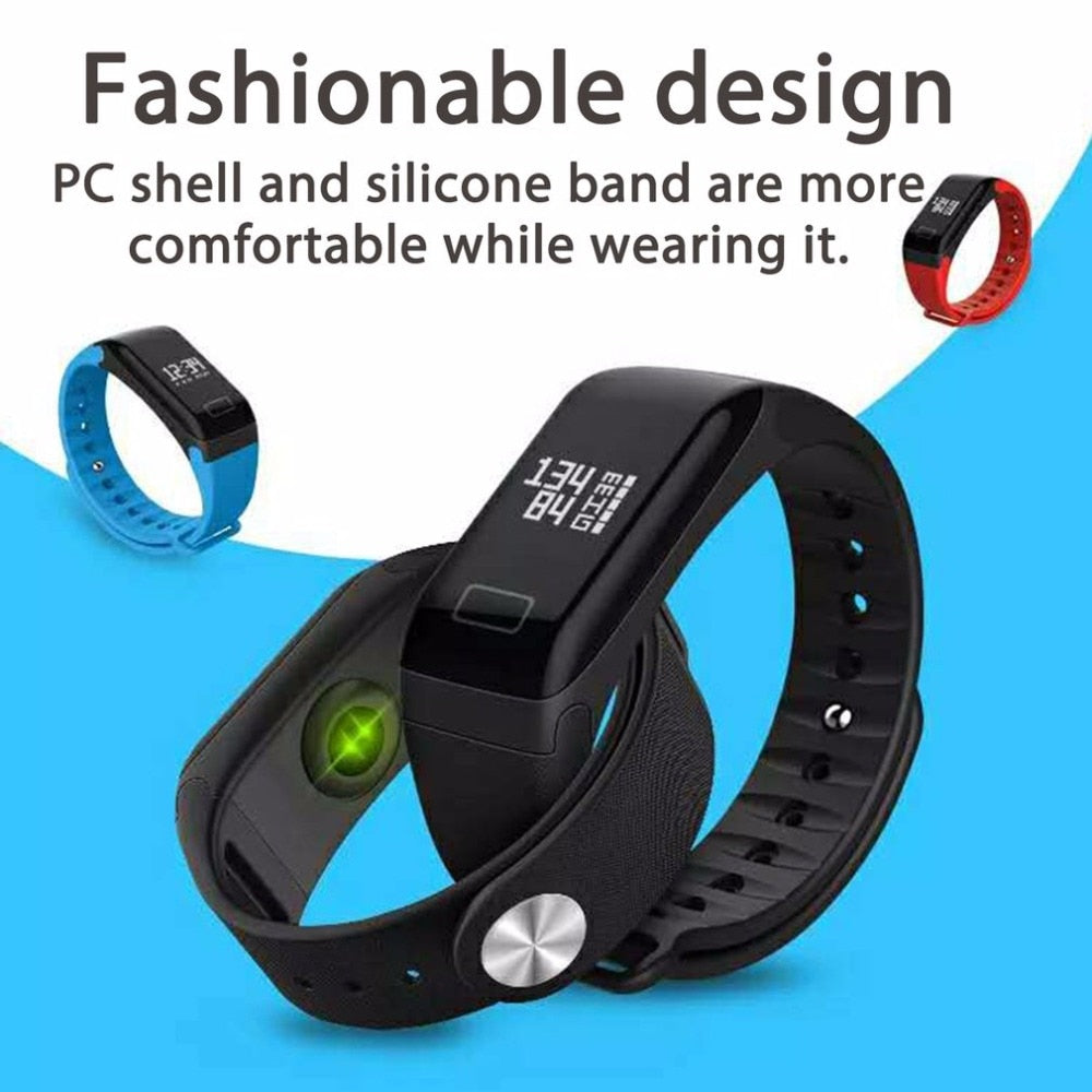2019 Fashion Men's watch  Health Oximetry Blood Pressure Monitor