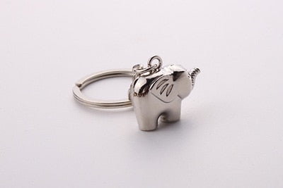 Lovely Elephant Keychain