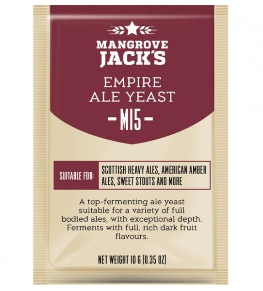 Mangrove Jack's Craft Series Yeast M15 Empire Ale