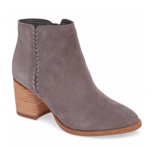 Blondo Nina Waterproof Suede Boot in Grey Suede