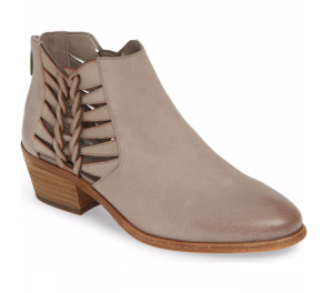 Vince Camuto Prestatta Bootie in Elephant Leather
