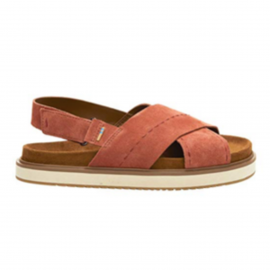TOMS Women's Marisa Suede Ankle-High Leather Sandal