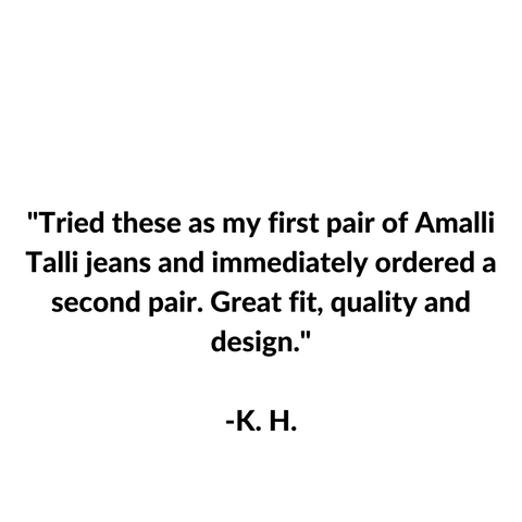 Tall girl jeans with long inseams- Amalli Talli