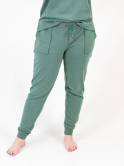 Green Tall Lounge Jogger