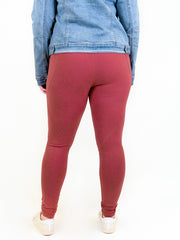 Essential Athletic Tall Legging - Spiced Cider