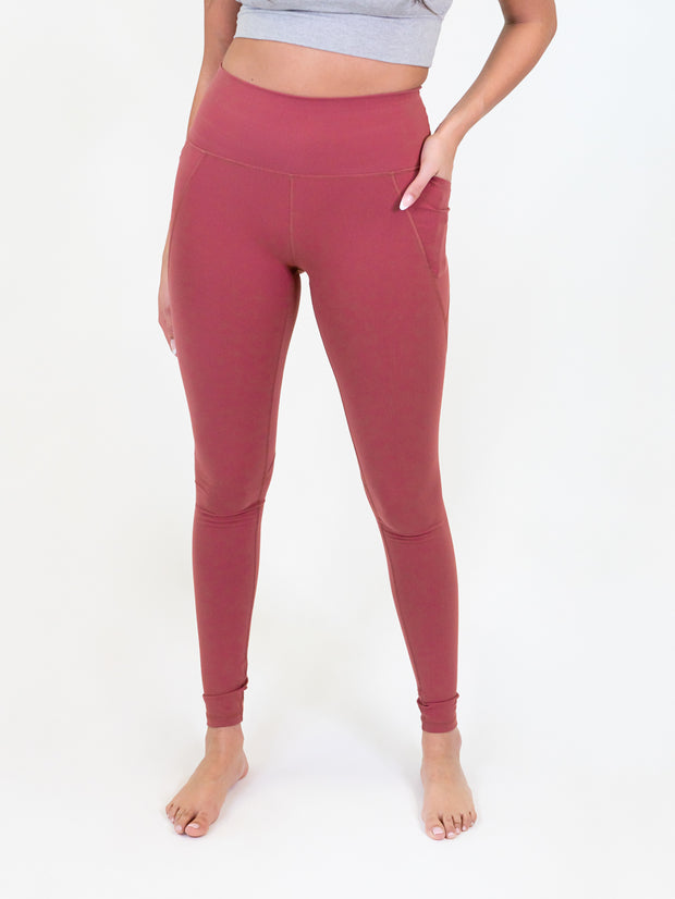 best leggings for tall women - spiced cider