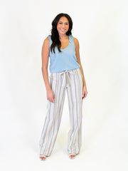 Chambray Tall Tie Tank