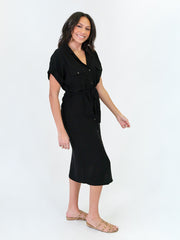 Tall Utility Dress - Black