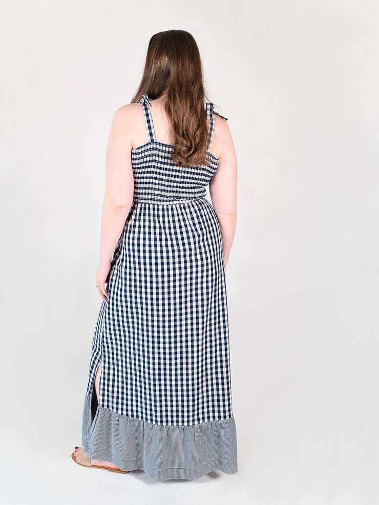 Gingham Tall Maxi Dress