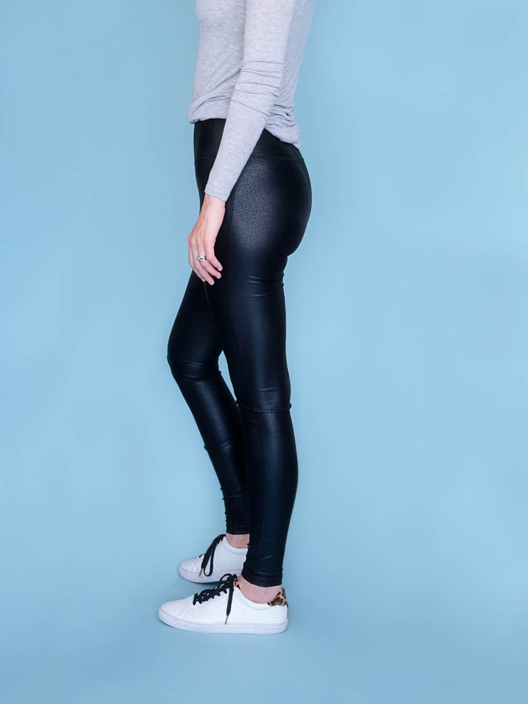 Faux Leather Leggings Tall Inseams