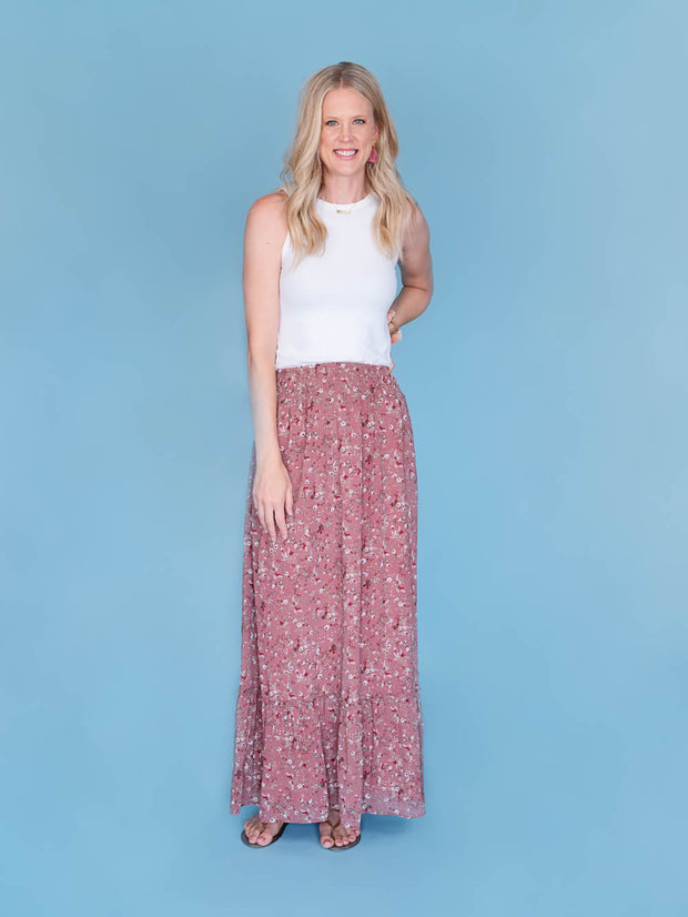 "maxi skirt for tall women and girls on 6'4"" woman"