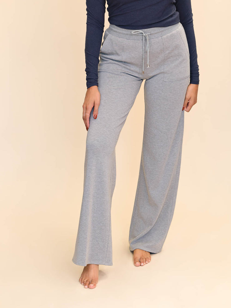 "Extra Long Tall Wide Leg Lounge pants for women 36"" inseam"
